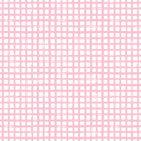 "6"" Pink Plaid fabric by shopcabin on Spoonflower - custom fabric"