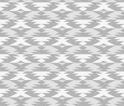 native diamond light grey fabric by holli_zollinger on Spoonflower - custom fabric