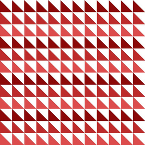 Red Gradient Triangles