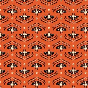 Spooky Moths (Orange & Small)