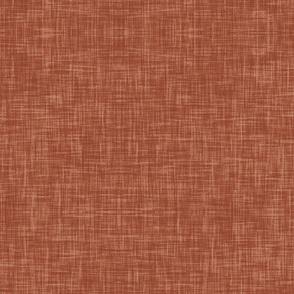 Burnt orange Linen look