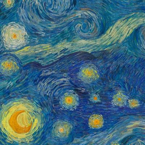"medium-small Starry Night Sky (12"")"