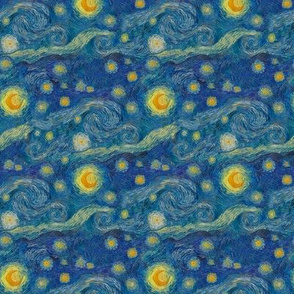 "still smaller Starry Night (4"" repeat)"