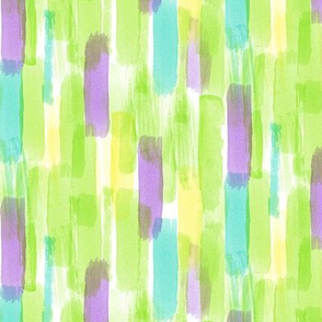 watercolor - green  LAD19