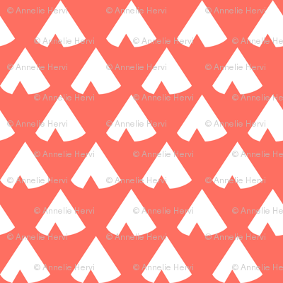 living coral teepee