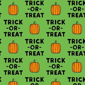trick or treat - stack green - halloween - LAD19