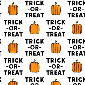 trick or treat - stack white - halloween - LAD19
