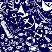 Doddles Pattern - Nautical