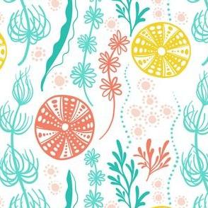 Seashore Sway - coral