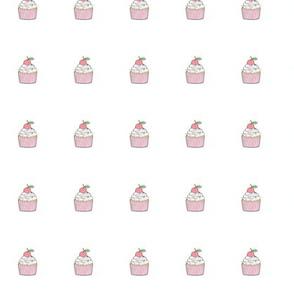 Cupcake Plush Plushie Softie Cut & Sew Tiny 0,75 inch