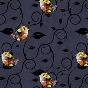 Fractal Birds on a Vine