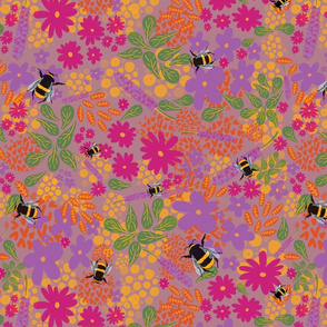 Bees Bees Bees - Colorway 1