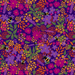 Bees Bees Bees - Colorway 3
