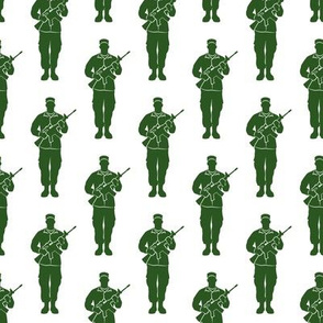 soldiers - green - military - LAD19