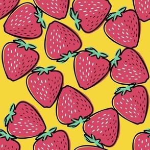 Strawberry retro