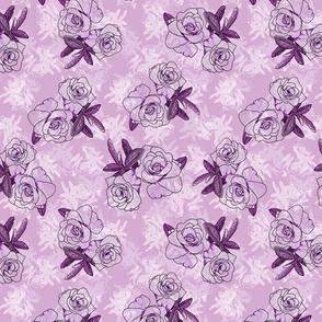 Lavender Camellias