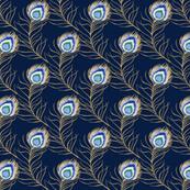 peacock - dark blue