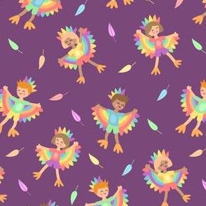 Bird Kids Purple