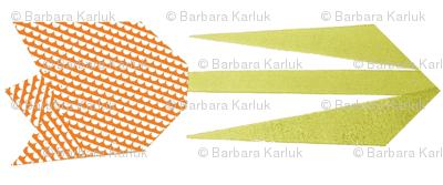 tulip quilt scandi-orange 90-ed