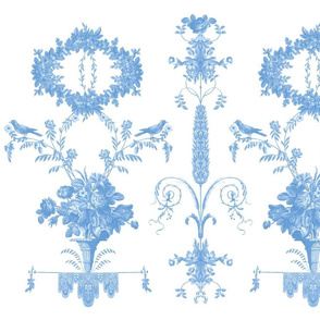 Rococo Garden neptune 1