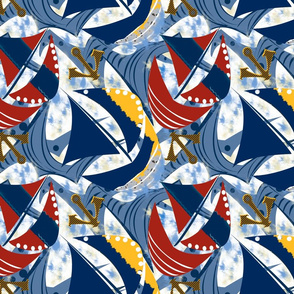 Stormy Seas sail stripes and anchor copy