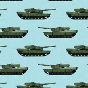 tanks - military vehicles - blue - LAD19