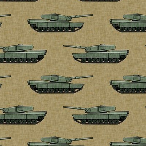 tanks - military vehicles - tan - LAD19