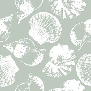 Sea shell camo green