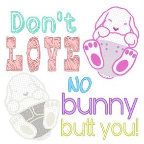 No Bunny White