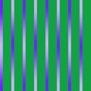 BYF7 - Violet Blue Gradient Pinstripes on Green