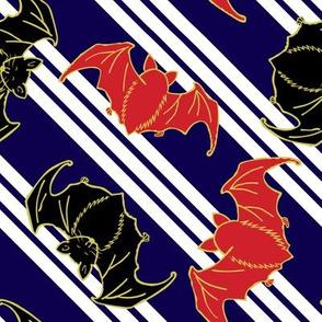bats on stripes