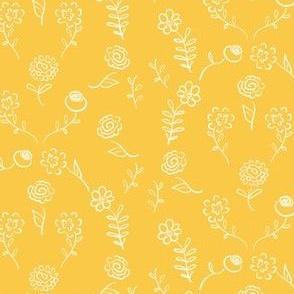 Floral Navettes - Sunshine