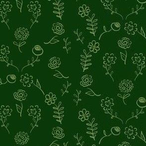 Floral Navettes - Forest
