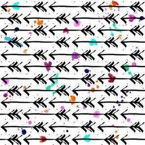 Watercolor Arrows - Small