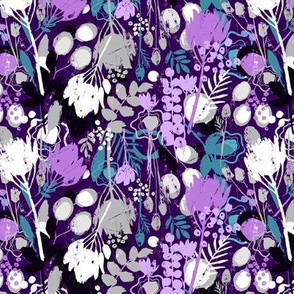 Wild Amethyst Floral - Small