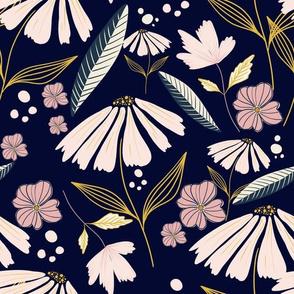 Midnight Florals