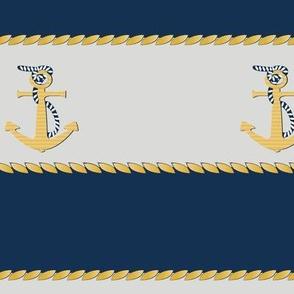 Nautical Stripes with Braid