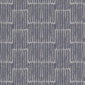 geometric in blueish greys