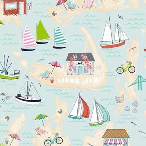 Summer On The Islands - Custom size