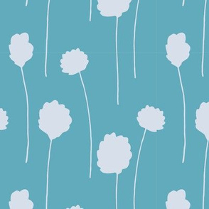 Cool Cottongrass - Turquoise Light Blue