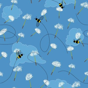 Dancing Among the Dandelion Seeds by Paducaru
