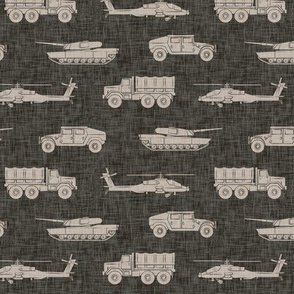 military vehicles - army - dark grey - LAD19