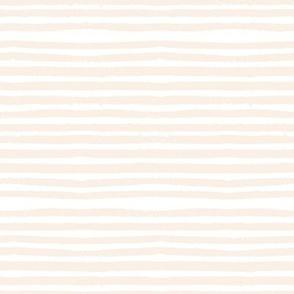 """8"""" Light Beige Uneven Stripes"""