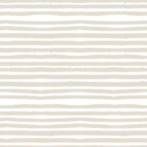 """8"""" Dark Beige Uneven Stripes"""