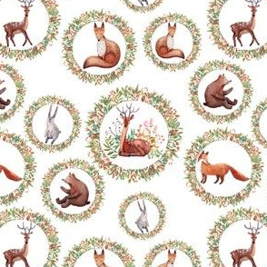 Forest Friends Pattern 5-inch