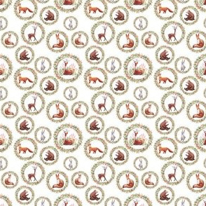 Forest Friends Pattern 2-inch