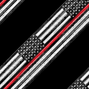 thin red line - diagonal C19BS