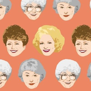 Golden Girls Faces - Large