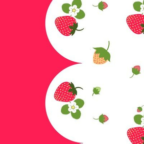 Strawberry Kitchen Curtains