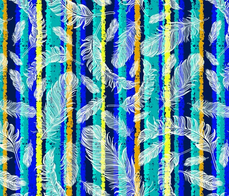 Rrrfeathers_stripes_peacock-colors_18x18-150pdi-index_contest245992preview